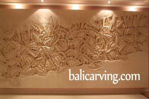 Bali stone carving wall panel or relief carving